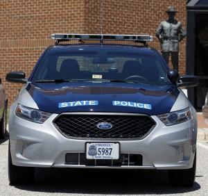 VA taurus cop car