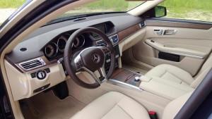 '14 E350 interior 1