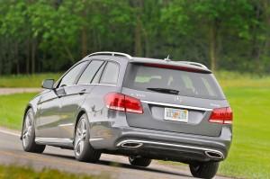 '14 E350 rear view