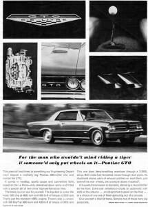 '64 GTO ad