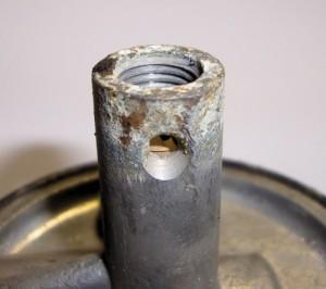 ethanol rusting