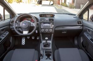 '15 WRX interior 1