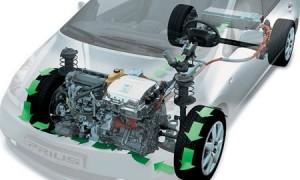 '15 Prius regenerative braking