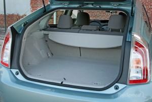 '15 Prius trunk area