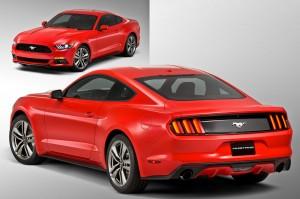 '15 Mustang details