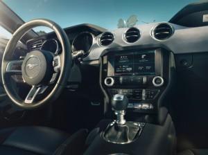 '15 Mustang interior