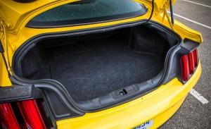 '15 Mustang trunk