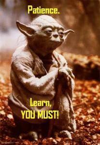 patience Yoda