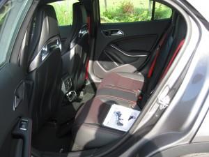 '15 GLA 45 back seats