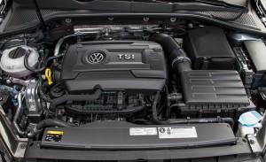 '15 Golf 1.8 engine pic