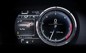 '15 IS gauge detail