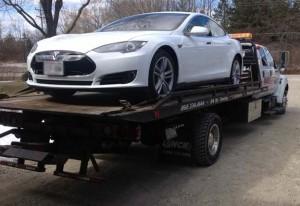 Tesla flatbedded