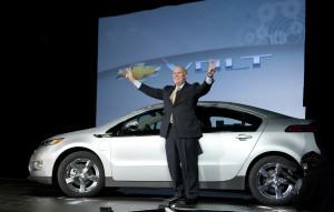 GM Celebrates Production Of Chevrolet Volt
