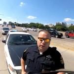 low IQ thug cop