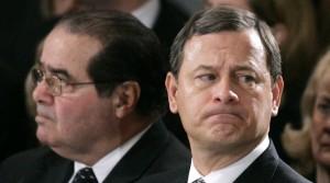 John Roberts, Antonin Scalia