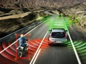 self driving Volvo