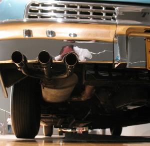 '48 Tucker pipes