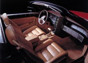 allante interior detail