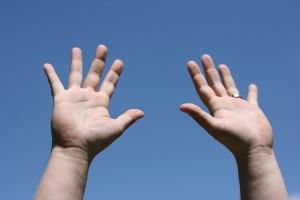hands up 1