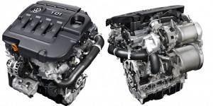 '15 Passat TDI engine detail