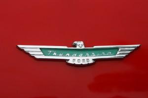 T-bird badge