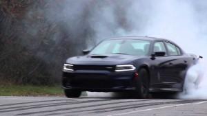 '15 Hellcat burnout