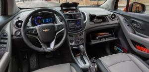 '15 Trax interior detail
