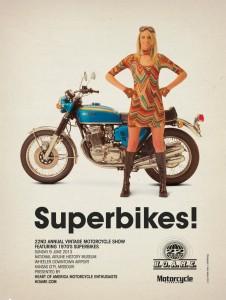 classic bike ad