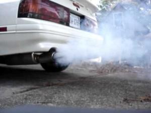 oil burning RX7