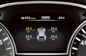 '15 Pathfinder tire pressure