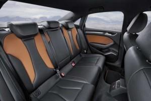 '16 A3 rear seats