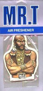 Mr. T air freshener