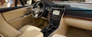 '15 Camry hybrid interior 1