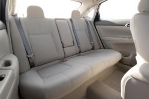 '15 Sentra back seats