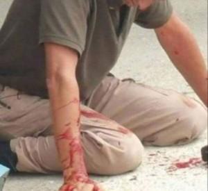 cop beaten pic