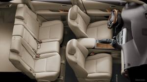 '15 RX450h interior wide