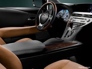 '15 RX450h side interior