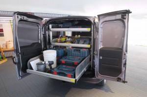 '16 ProMaster city cargo