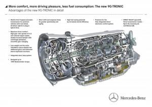Benz 9 speed