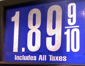 cheap gas pic