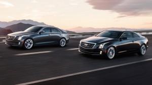 2016 Cadillac ATS (L) and ATS Coupe
