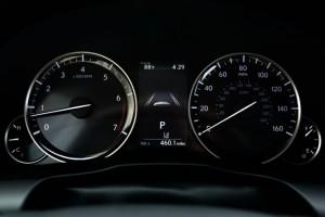 '16 ES350 gauges