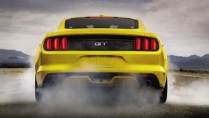 '16 Mustang burnout