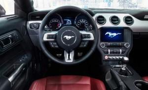 '16 Mustang interior 2