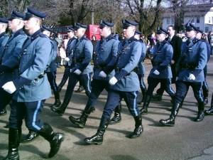 NJ SA on parade