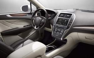 '16 MKC interior detail
