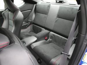 '16 BRZ back seats