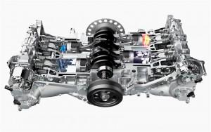 '16 BRZ engine cut away
