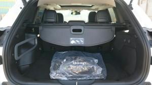 '16 Cherokee cargo