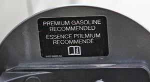gas lid sticker